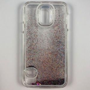 Accessories - Samsung Galaxy S5 Floating Glitter Phone Case